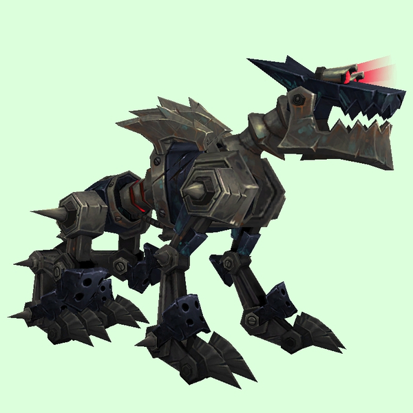 Black Mechanowolf