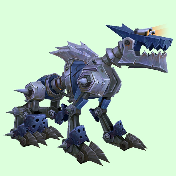 Blue Mechanowolf