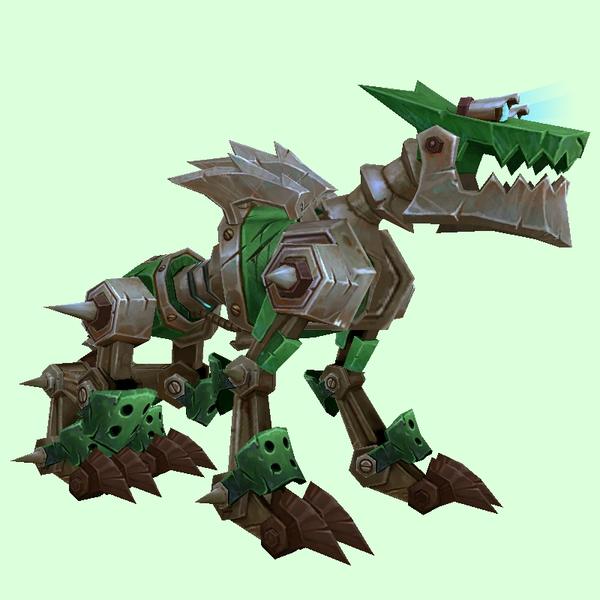 Petopia: Green Mechanowolf