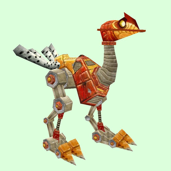 Orange-Red Mechanostrider (Yellow Eyes)