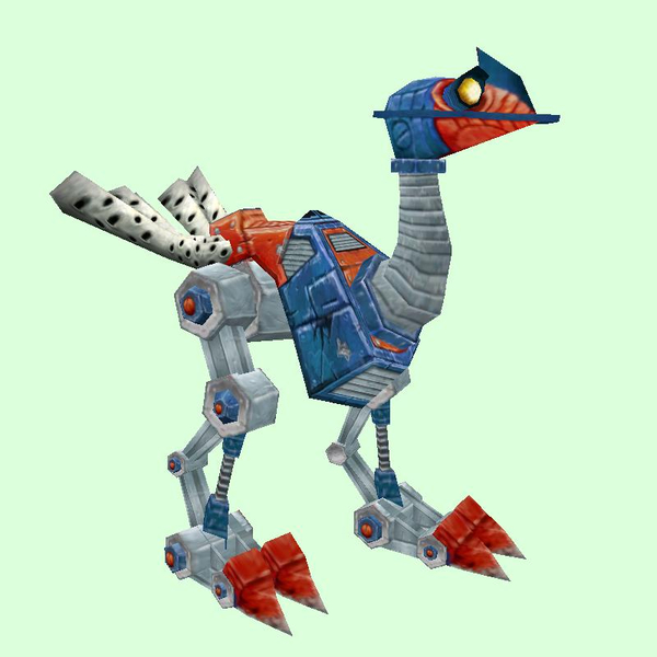 Red-Blue Mechanostrider