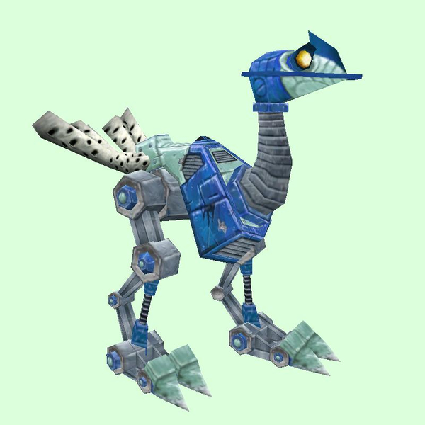 Blue Mechanostrider (Yellow Eyes)