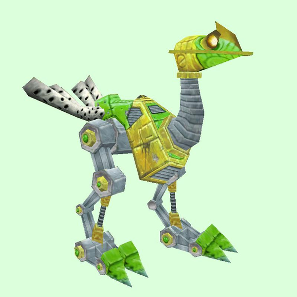 Green-Yellow Mechanostrider (Yellow Eyes)