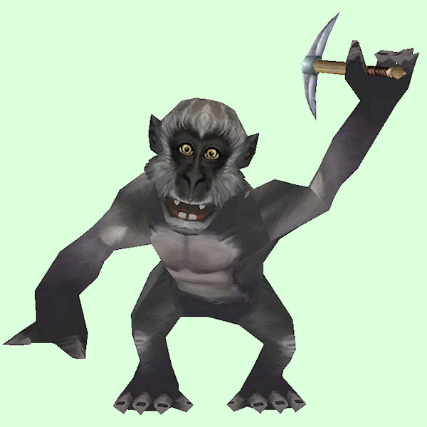 Grey Axe Monkey