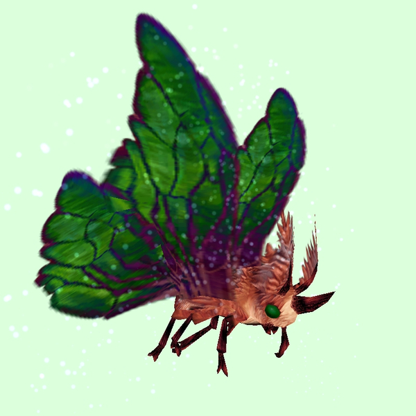 Red Moth w/Green Wings