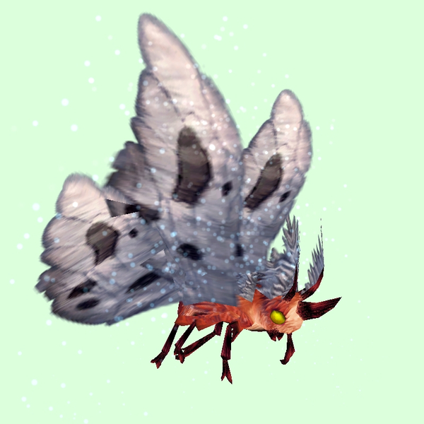 Red Moth w/ Grey Wings