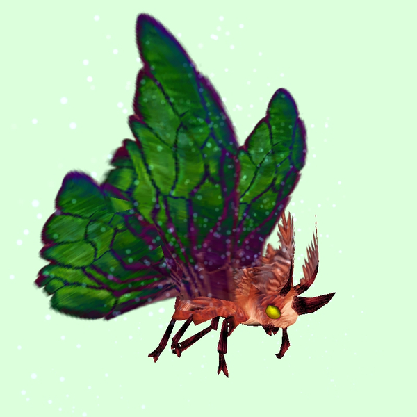 Red Moth w/ Green Wings