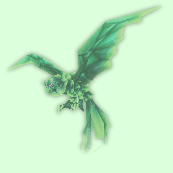 Ghostly Green Owl