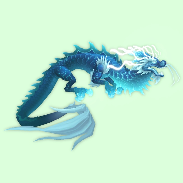 Heavenly Blue Cloud Serpent