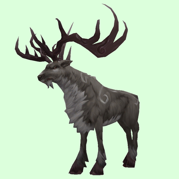 Patterned Grey Stag