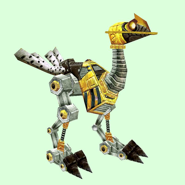 Hazard Yellow Mechanostrider