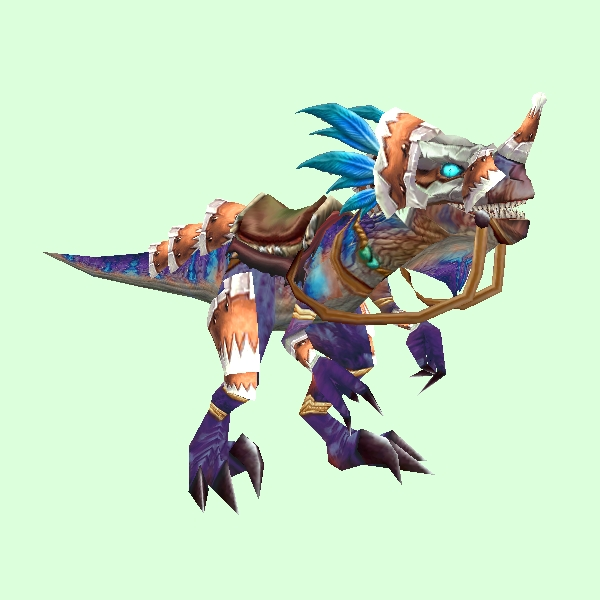 Armored Purple Raptor
