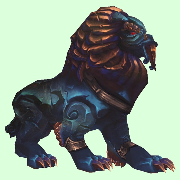 Petopia blue armored stone quilen for Portent pet wow