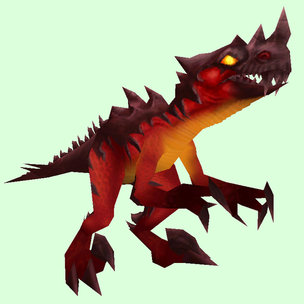 Red Spiked Raptor