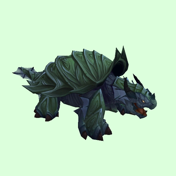 Green Spiked Dragon Turtle