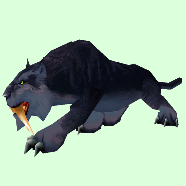 Black Saber Cat Pet Look Petopia Hunter Pets In The World Of Warcraft