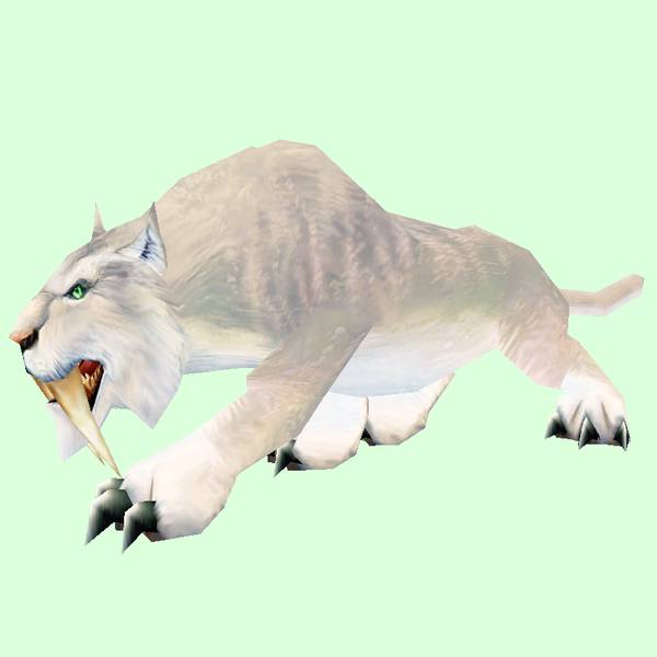 White Saber Cat Pet Look Petopia Hunter Pets In The World Of Warcraft