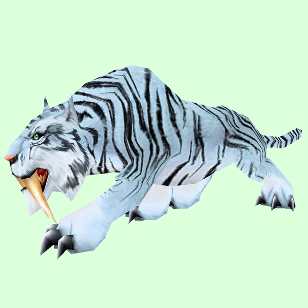 Striped White Saber Cat Pet Look Petopia Hunter Pets In The World Of Warcraft