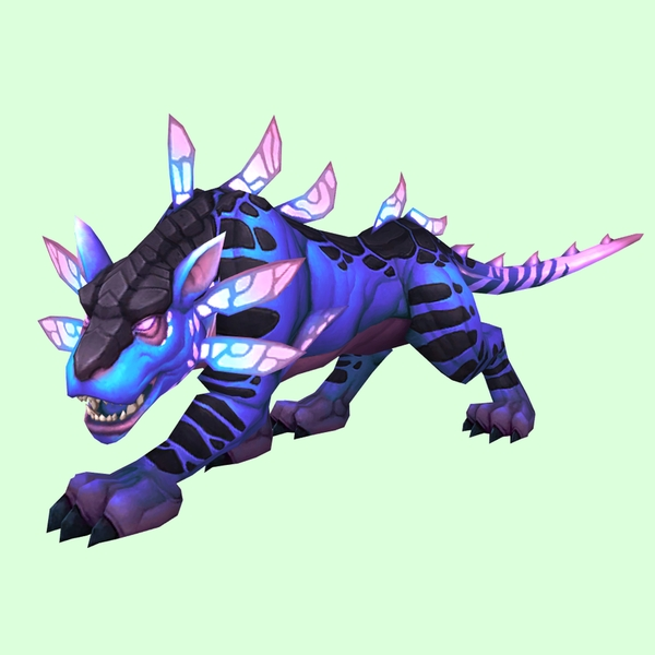 Violet Panthara W Pink Glow Pet Look Petopia Hunter Pets In The World Of Warcraft