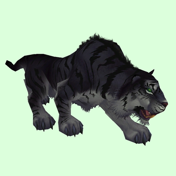 Black Tiger Pet Look Petopia Hunter Pets In The World Of Warcraft