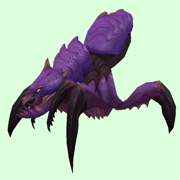 Rugged Purple Silithid