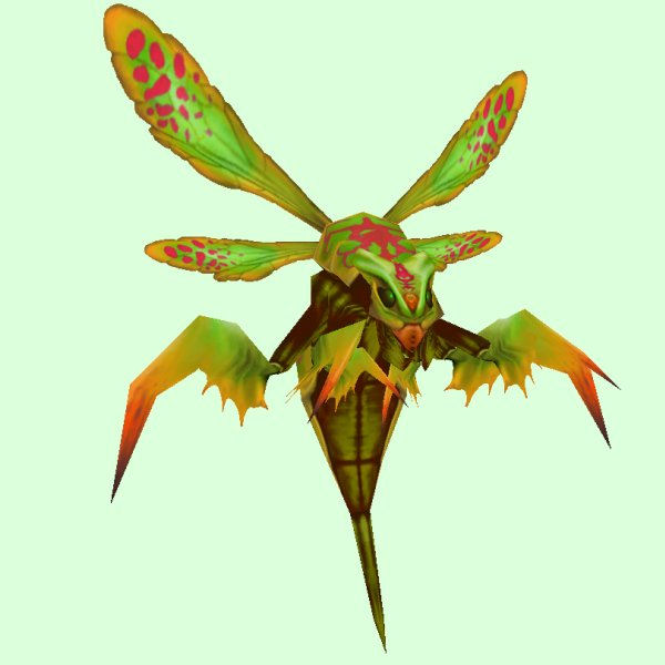 petopia green red wasp