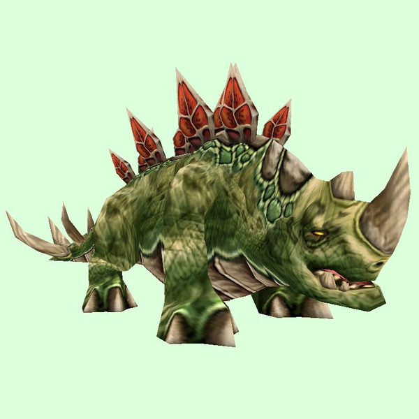 Dark Green Stegodon