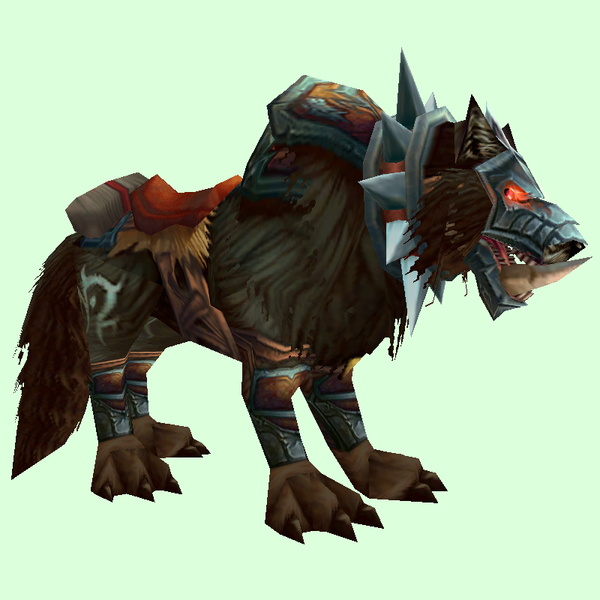 Saddled Dark Worg