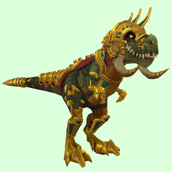 Gold Armoured Zandalari Devilsaur Pet Look Petopia Hunter Pets In The World Of Warcraft