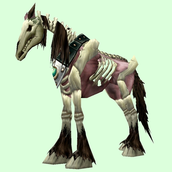 Red Skeletal Horse