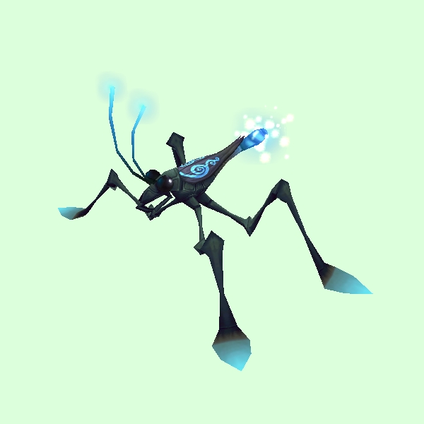 Blue-Black Water Strider