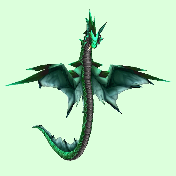 Green Spiked Wind Serpent