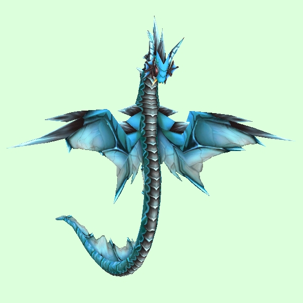 Blue Spiked Wind Serpent