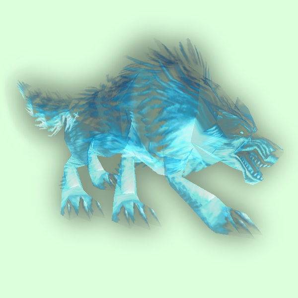 Spectral Wolf/Ghost Wolf