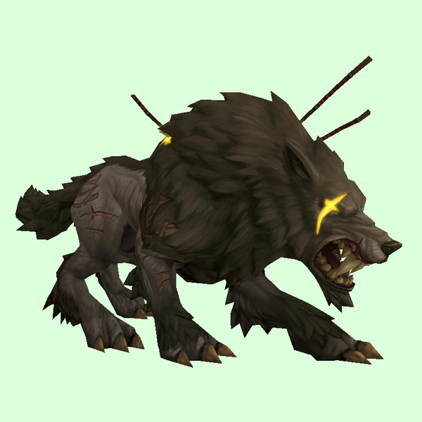 Battle Scarred Runed Worg Pet Look Petopia Hunter Pets In The World Of Warcraft