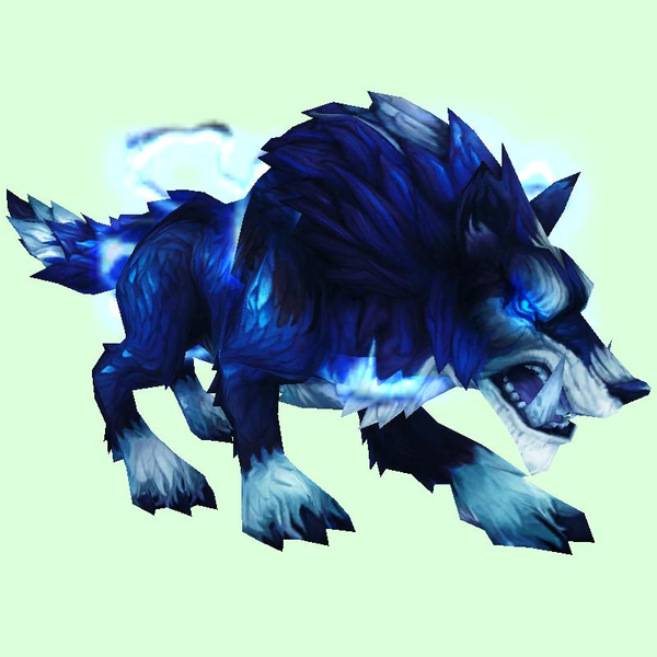 Stormy Blue Maned Wolf