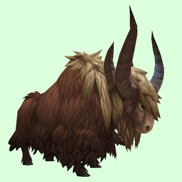 Brown Yak