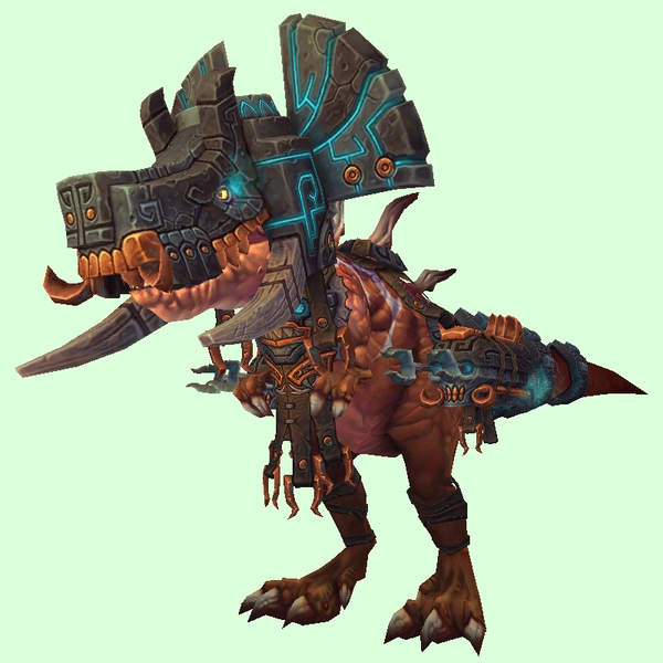 Bronze Devilsaur w/ Black & Copper Armour