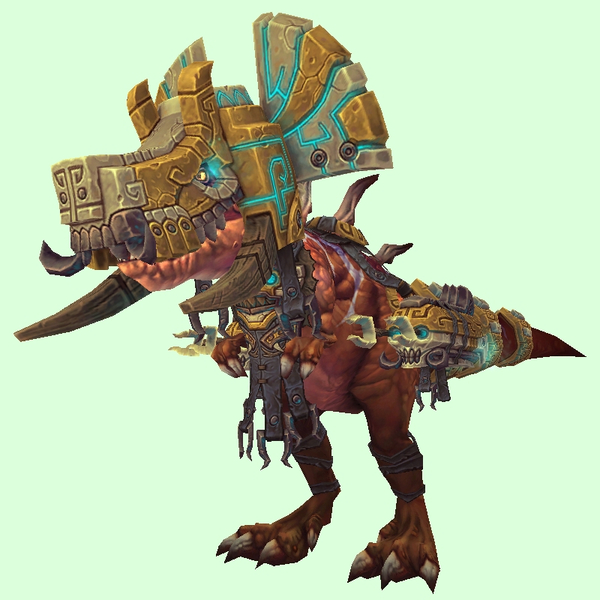 Bronze Devilsaur w/ Gold & Pale Armour