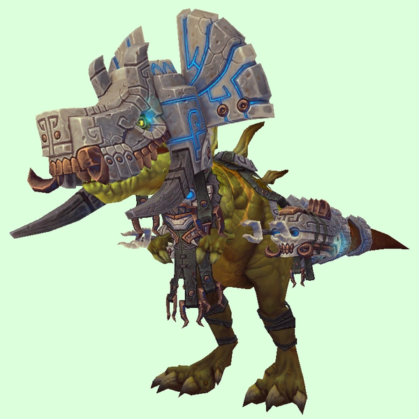 Green Devilsaur w/ Grey & Bronze Armour