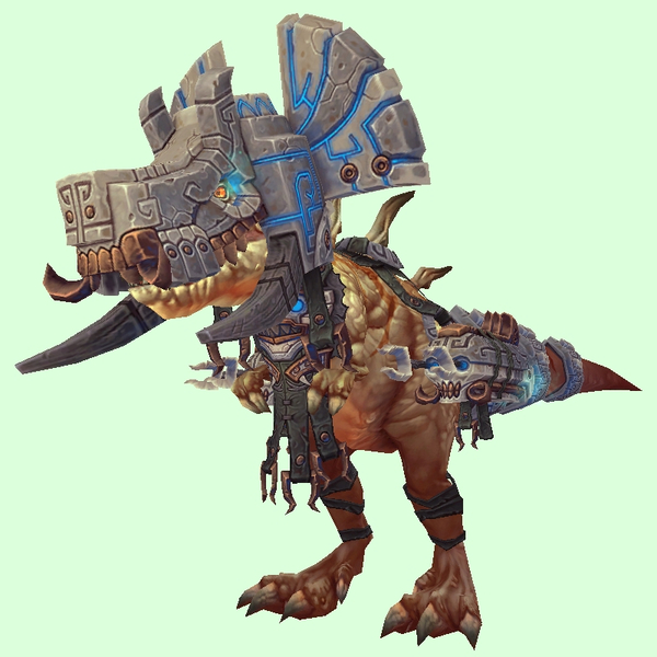 Light Brown Devilsaur w/ Grey & Bronze Armour
