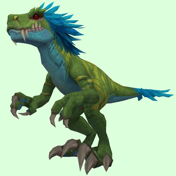 Green Maned Raptor