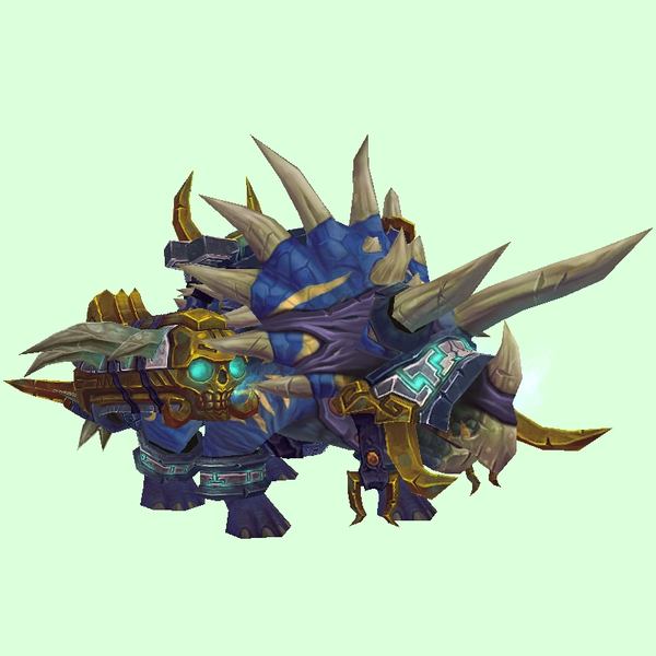 Armored Blue Direhorn