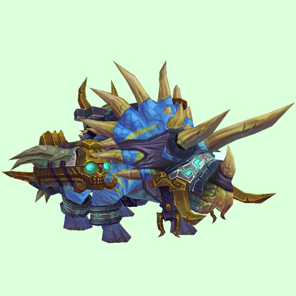 Armoured Bright Blue Direhorn