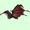 Red-Black Bat