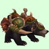 Dark Bear w/ Green Amani Armour