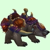 Grey Bear w/ Purple Amani Armour
