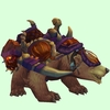 Tawny Bear w/ Purple Amani Armour