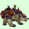 White Bear w/ Purple Amani Armour