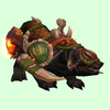 Black Bear Mount w/Green Armour